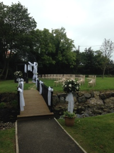 Ballygally Castle - Outdoor Wedding
